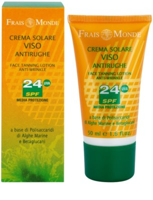Frais Monde Sun сонцезахисний крем проти старіння шкіри SPF 24 1