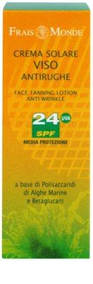 Frais Monde Sun сонцезахисний крем проти старіння шкіри SPF 24 2