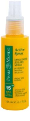 Frais Monde Sun loção solar em spray  SPF 15