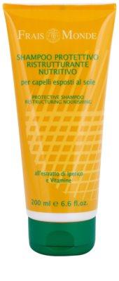 Frais Monde Sun champú protector para cabello contra los efectos del sol, el cloro y la sal
