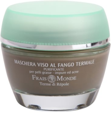 Frais Monde Terme di Répole Purifying mascarilla limpiadora para pieles grasas con tendencia acnéica