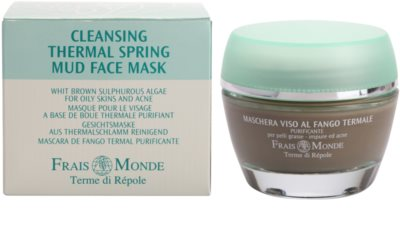Frais Monde Terme di Répole Purifying tisztító maszk az aknéra hajlamos zsíros bőrre 1
