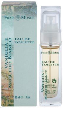 Frais Monde Frais Vanilla And White Musk Eau de Toilette für Damen