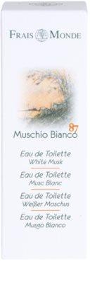 Frais Monde White Musk Eau de Toilette para mulheres 4