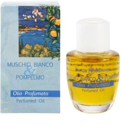 Frais Monde White Musk And Grapefruit óleo perfumado para mulheres