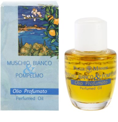 Frais Monde White Musk And Grapefruit ulei parfumat pentru femei
