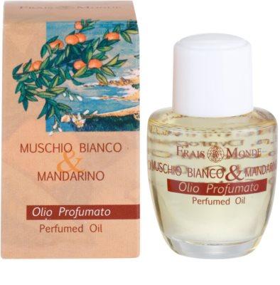 Frais Monde White Musk and Mandarin parfümiertes Öl für Damen