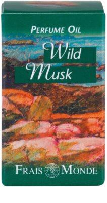 Frais Monde Wild Musk parfümiertes Öl für Damen 3
