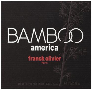 Franck Olivier Bamboo America woda toaletowa dla mężczyzn 5
