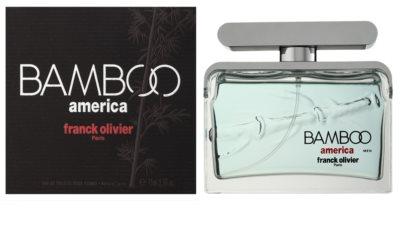 Franck Olivier Bamboo America woda toaletowa dla mężczyzn