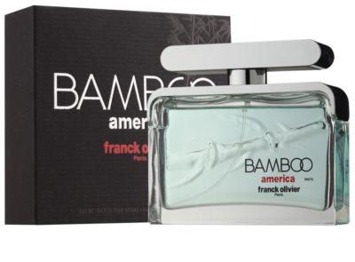 Franck Olivier Bamboo America woda toaletowa dla mężczyzn 1