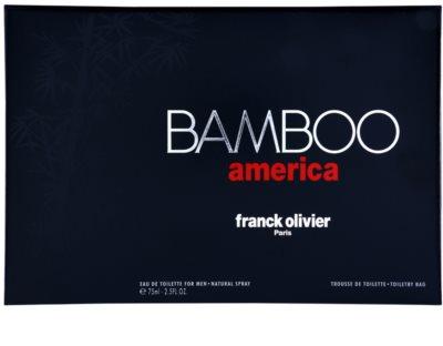 Franck Olivier Bamboo America ajándékszett 4