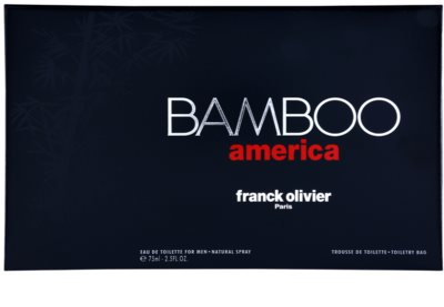 Franck Olivier Bamboo America zestaw upominkowy 4