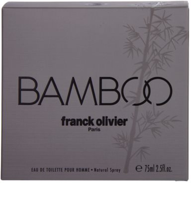 Franck Olivier Bamboo Pour Homme тоалетна вода за мъже 4