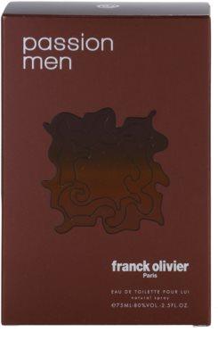 Franck Olivier Passion Man Eau de Toilette für Herren 4