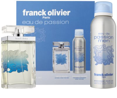 Franck Olivier Eau De Passion darilni set