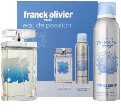 Franck Olivier Eau De Passion dárková sada