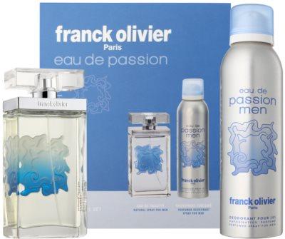 Franck Olivier Eau De Passion set cadou