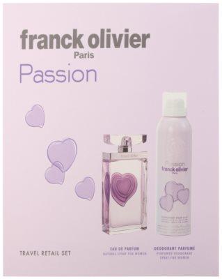 Franck Olivier Passion ajándékszettek 2