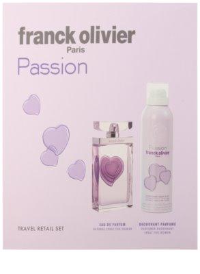 Franck Olivier Passion coffrets presente 2