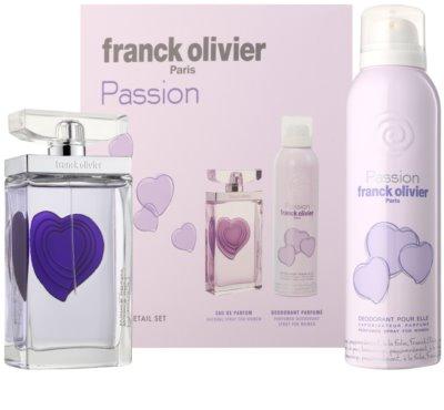 Franck Olivier Passion ajándékszettek