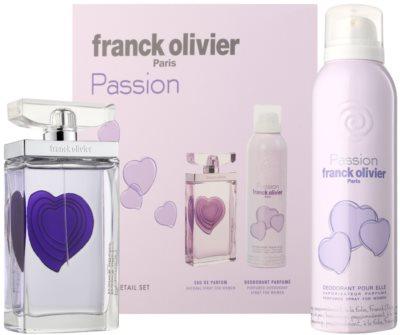 Franck Olivier Passion coffrets presente