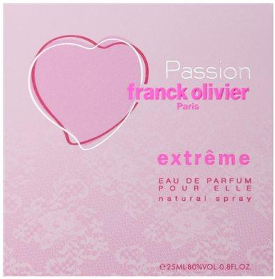 Franck Olivier Passion Extreme Eau de Parfum für Damen 5