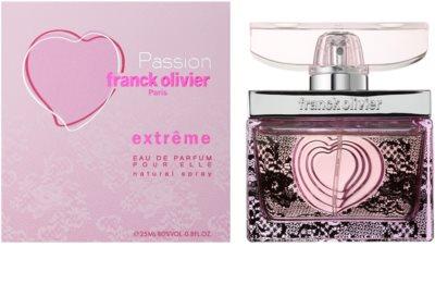 Franck Olivier Passion Extreme Eau de Parfum für Damen