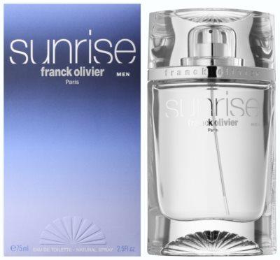 Franck Olivier Sunrise eau de toilette para hombre