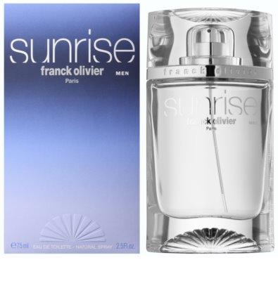 Franck Olivier Sunrise Eau de Toilette para homens
