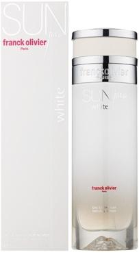Franck Olivier Sun Java White Women Eau de Parfum para mulheres