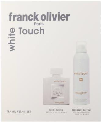 Franck Olivier White Touch darčeková sada 2