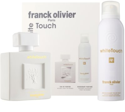 Franck Olivier White Touch coffret presente