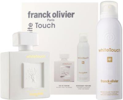 Franck Olivier White Touch lote de regalo
