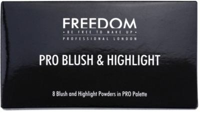 Freedom Pro Blush Bronze and Baked arckontúr paletta 2