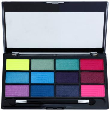 Freedom Pro 12 Chasing Rainbows paleta senčil za oči z aplikatorjem