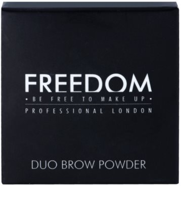 Freedom Duo Brow pudr na obočí 2