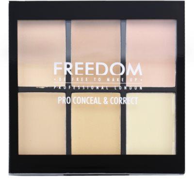 Freedom Pro Conceal paleta korektorů 1