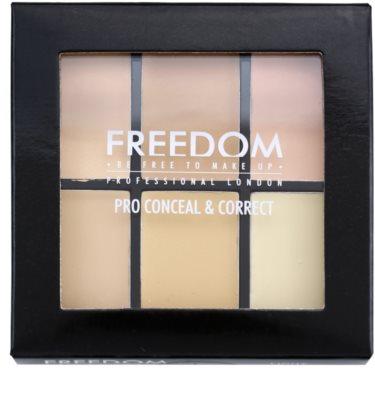 Freedom Pro Conceal paleta korektorů 2