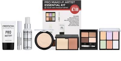 Freedom Pro Makeup Artist Essential Kit zestaw kosmetyków I.