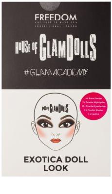 Freedom House of GlamDolls Exotica Doll multifunkční paleta se zrcátkem 2