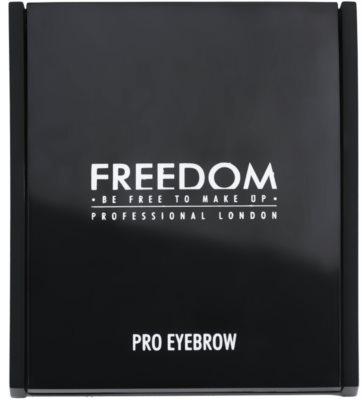 Freedom Pro Eyebrow Palette zum schminken der Augenbrauen 1