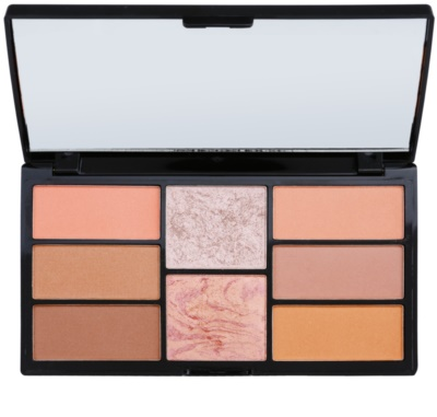 Freedom Pro Blush Peach and Baked paleta za konture obraza
