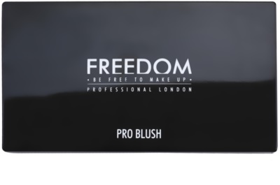 Freedom Pro Blush Peach and Baked paleta pentru contur facial 1