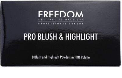 Freedom Pro Blush Peach and Baked paleta pentru contur facial 2