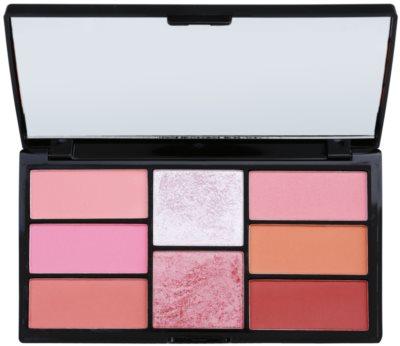 Freedom Pro Blush Pink and Baked paleta za konture obraza