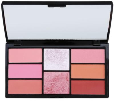 Freedom Pro Blush Pink and Baked palete de cores para contorno de rosto