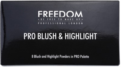 Freedom Pro Blush Pink and Baked paleta do konturowania twarzy 2