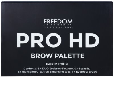 Freedom Pro HD kit para unas cejas perfectas 2