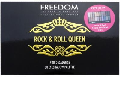 Freedom Pro Decadence Rock & Roll Queen szemhéjfesték paletták applikátorral 3